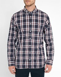 Tommy Hilfiger Red And Blue Atlantic Checked Shirt