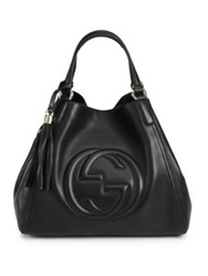 Gucci Soho Medium Hobo Bag Black