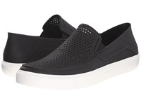 Crocs Citilane Roka Slip On Black White Men's Slip On Shoes
