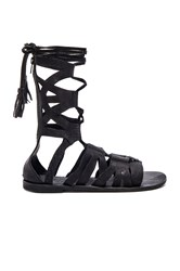 Free People Mesa Verde Gladiator Sandal Black