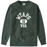 Wtaps Design Crew Sweat Green
