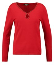 Morgan Moral Jumper Rouge Red