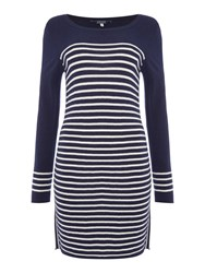Joules Knit Tunic Navy