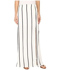 Union Of Angels Ebony Maxi Skirt Black White Women's Skirt