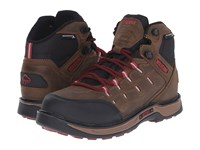 Wolverine Edge Lx Epx Wpf Brown Red Men's Work Lace Up Boots