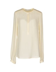 Veronique Branquinho Long Sleeve Shirts Ivory