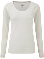 Craghoppers Nosilife Base Long Sleeved T Shirt White
