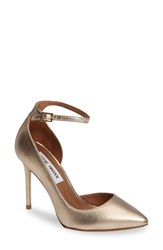 Steve Madden Women's Tifannie Demi D'orsay Pump Metallic