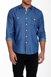 Vanishing Elephant Sunday Shirt Blue