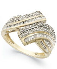 Wrapped In Love Diamond Twist Ring In 10K Gold 1 2 Ct. T.W.