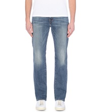 True Religion Ricky Relaxed Fit Straight Leg Jeans Indigo