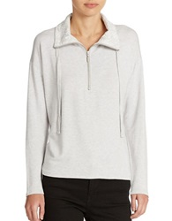 Kensie French Terry Sweatshirt Fog