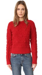 Dsquared Knit Sweater Red