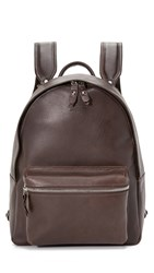 J.W. Hulme Co. Century Leather Backpack Walnut