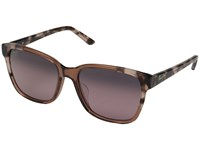 Maui Jim Moonbow Pink Pink Tokyo Maui Rose Polarized Fashion Sunglasses Brown