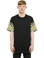 Givenchy Cuban Fit Peacock Cotton Jersey T Shirt