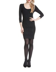 Plenty By Tracy Reese Lace Panelled Sheath Dress Black