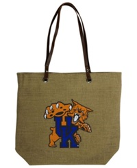 Little Earth Kentucky Wildcats Burlap Tote Brown
