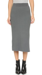 Atm Anthony Thomas Melillo Ribbed Skirt Fatigue