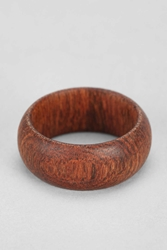 Omerica Organic Wooden Ring Green