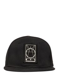 Mcq By Alexander Mcqueen Mcq Alexander Mcqueen Logo Patch Cotton Canvas Baseball Hat