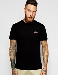 Penfield T Shirt With Mountain Logo Exclusive Black