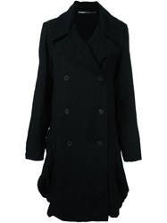 Rundholz Double Breasted Coat Black