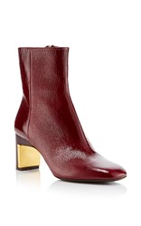 Rosetta Getty Bordeaux Ankle Boot Burgundy