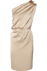 Day Birger Et Mikkelsen Day Fluents One Shoulder Stretch Silk Satin Dress