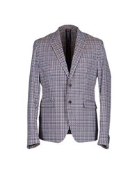 Msgm Suits And Jackets Blazers Men Lilac