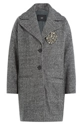Steffen Schraut The Cosy Coat With Cotton Grey
