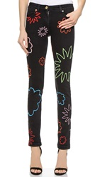 House Of Holland Embroidered Dylan Boyfriend Jeans