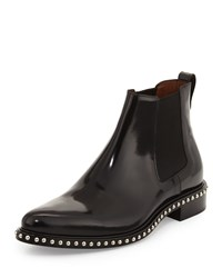 Givenchy Studded Leather Chelsea Boot Black Women's