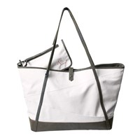 Morton And Hudson Canvas Carryall Tote Moss