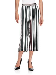 O'2nd Multi Stripe Pants Multicolor