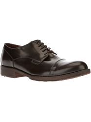 Le Crown Classic Derby Shoe Red