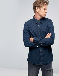 Weekday Class Denim Shirt Od 11 Blue Od 11 Indigo 76 101