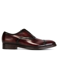 Alberto Fasciani Classic Oxford Shoes Brown
