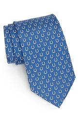 Vineyard Vines Indianapolis Colts Print Tie Royal Blue