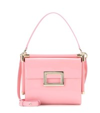Roger Vivier Miss Viv' Carre Small Shoulder Bag Pink