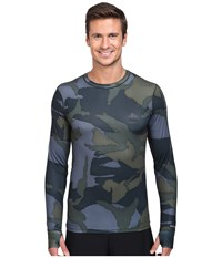 Burton Lightweight Crew Beetle Derby Camo Men's Long Sleeve Pullover Multi