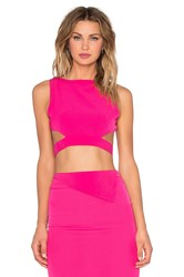 Rise Of Dawn Go All Night Crop Top Pink