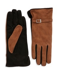 Grandoe Suede Touch Gloves Brown
