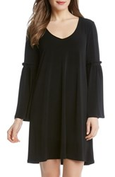 Karen Kane Women's Bell Sleeve A Line Dress Black