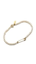 Wouters And Hendrix Cultured Freshwater Pearl Bracelet Pearl Gold