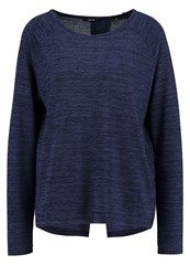 Opus Ginger Long Sleeved Top Reliable Blue