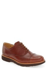 Samuel Hubbard Men's 'Market' Cap Toe Oxford Whiskey