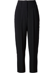 Givenchy Pleated High Waisted Trousers Black