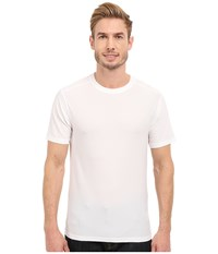Exofficio Give N Go Tee White Men's Short Sleeve Pullover
