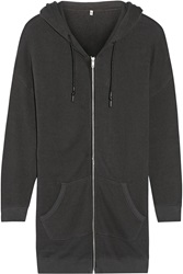 R 13 Cotton Terry Hooded Top